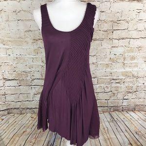 Free People Purple Swing Dress Medium